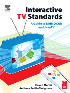 Cover of 'Interactive TV Standards'